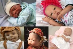 Newborn и Expression dolls