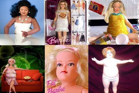 Полные Барби