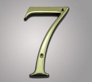 пословицы с цифрой 7