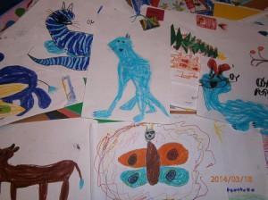 копилка детских рисунков