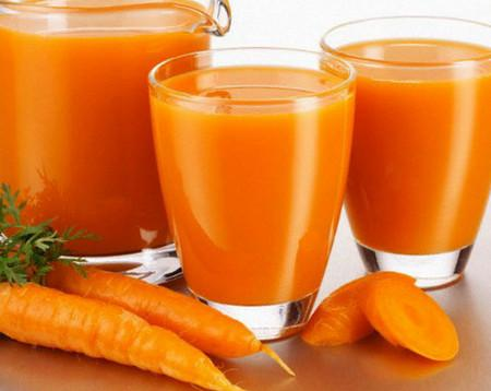 морковный сок вреден для печени