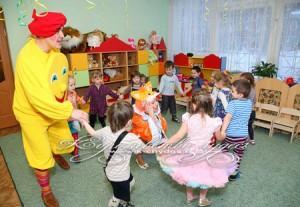 день рождения в детском садике
