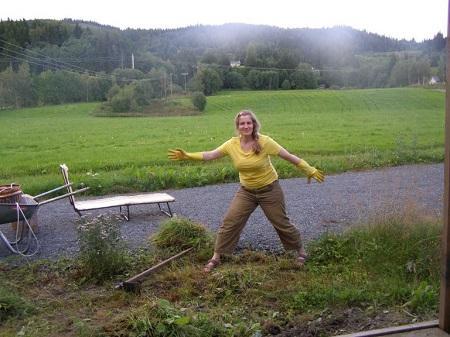 работа на огороде