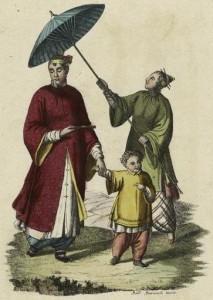 Китайский зонт