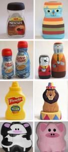 Игрушки из пластиковых бутылок