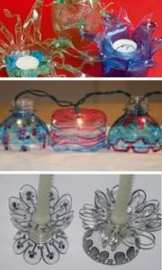 поделки для дома из пластиковых бутылок 2