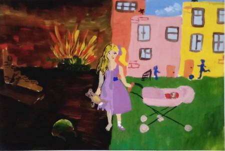 рисунок про войну и мир