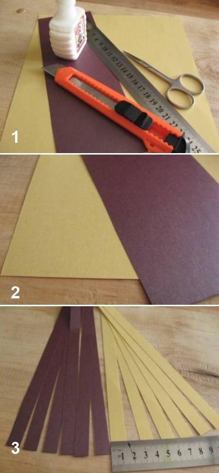 Квиллинг. Картинки материалов для приготовления цветов