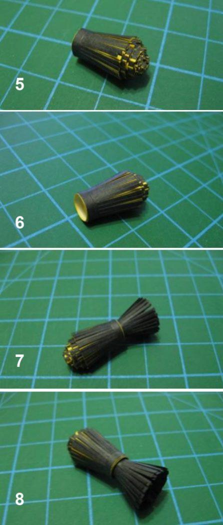 Картинки изготовления шмеля в технике квиллинг