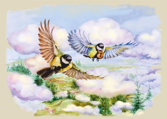 гугушатия птицы