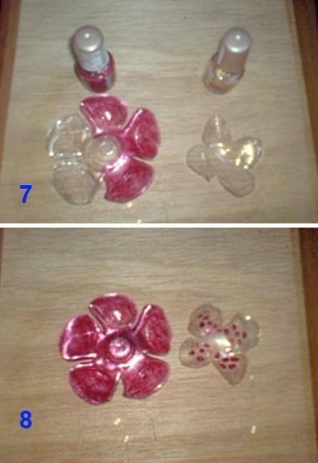 Цветы из пластиковых бутылок. Подробная инструкция