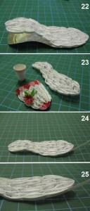Квиллинг. Изготовление туфельки