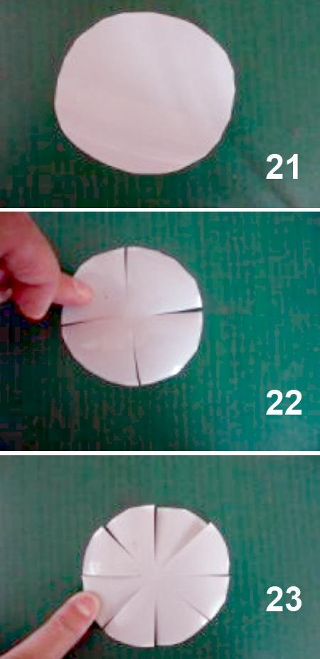 как сделать ромашки