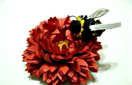 Квиллинг. Изготовление хризантемы