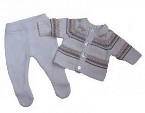 костюм на выписку из роддома зимой