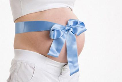 живот при беремености мальчиком