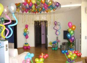 праздничкные шарики на день рождения