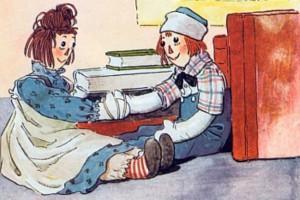 тряпичная Энн и Энди