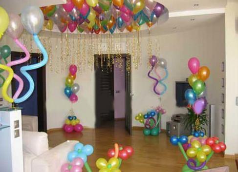 украсим комнату на день рождения