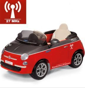 Детский электромобиль FIAT 500 Peg Perego ED1163 на радиоуправлении