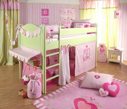 двухърусная кровать для девочки