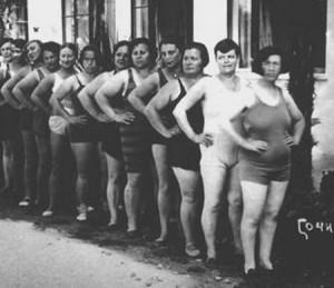 купальники 20-х годов