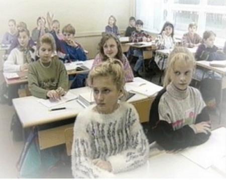 школьная одежда в 90-х