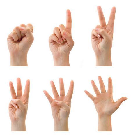 посчитаем пальчики