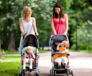 прогулки с коляской - это даже не работа, а отдых