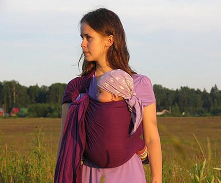 слинг для переноски новорожденных