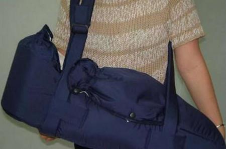 сумка переноска для новорожденных через плечо