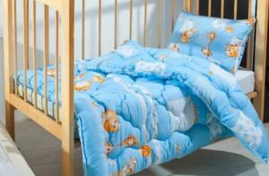 детские одеяла холофайбер