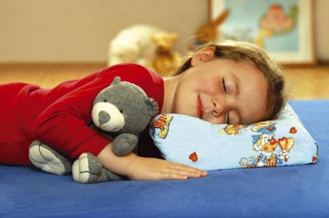 выбор детской подушки