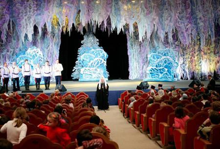 Новогодняя елка в Храме Христа Спасителя