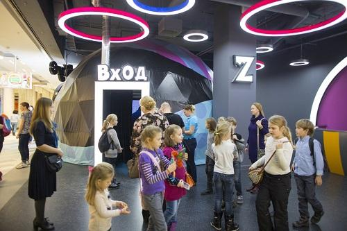 Сферический кинотеатр Зыркус в Москве