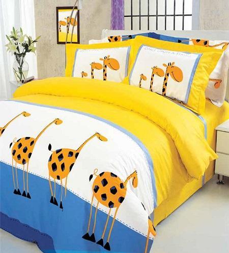 детское постельное белье Жираф