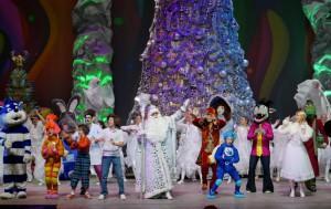 новогодняя елка с Фиксиками