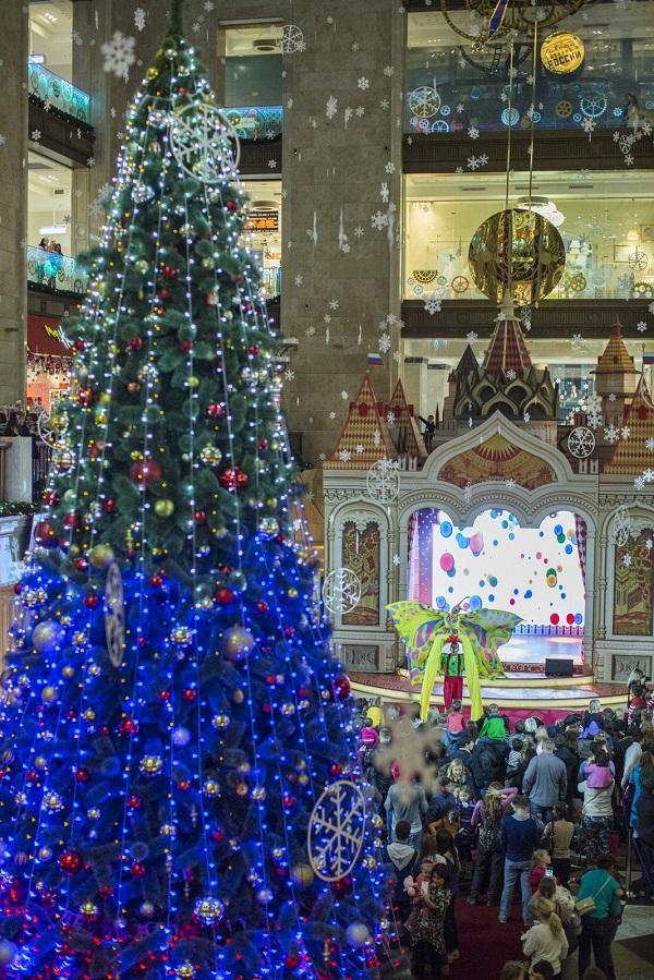 Новогодняя елка в ЦДМ