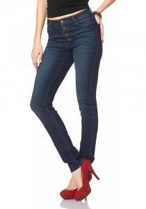 джинсы с зауженной талией