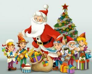Дед Мороз и гномики