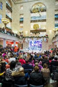 бесплатные новогодние концерты
