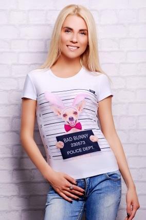 футболка собачка