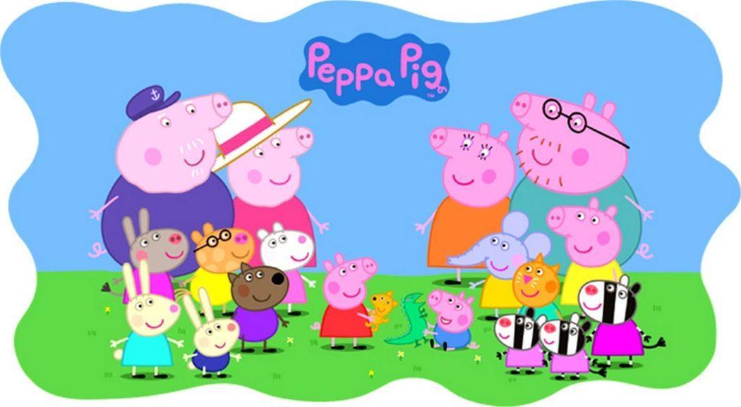 Пеппа и ее семья