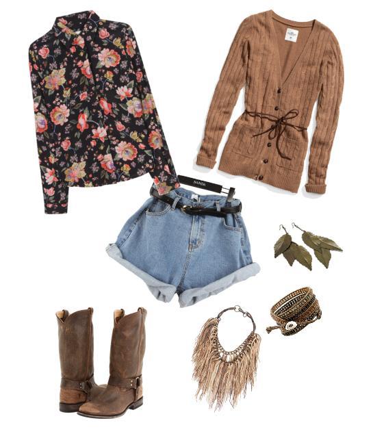 одежда в стиле кантри