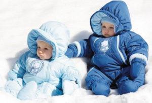 удобная зимняя детская одежда
