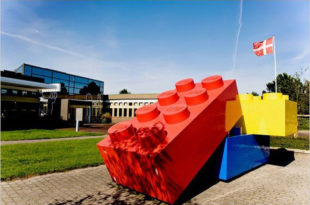 фабрика Лего в Дании