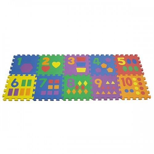 коврик для детей цифры