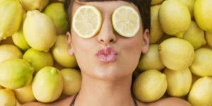 отбеливание кожи лица лимоном