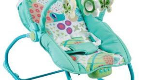 шезлонг качалка для новорожденного