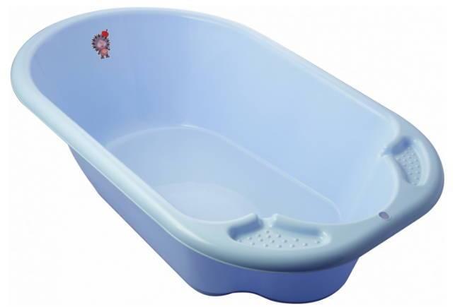 классическая детская ванночка Дельфин
